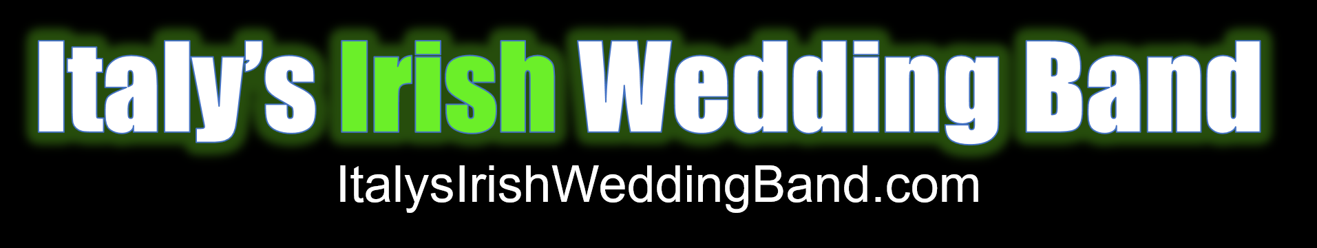 "The Logo of the Italian Wedding Entertainers ""Italy's Irish Wedding Band"""