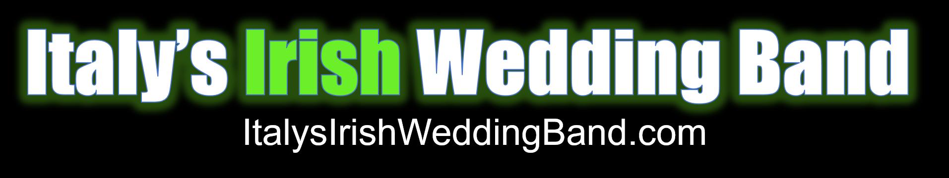 Italy's Irish Wedding Band banner logo